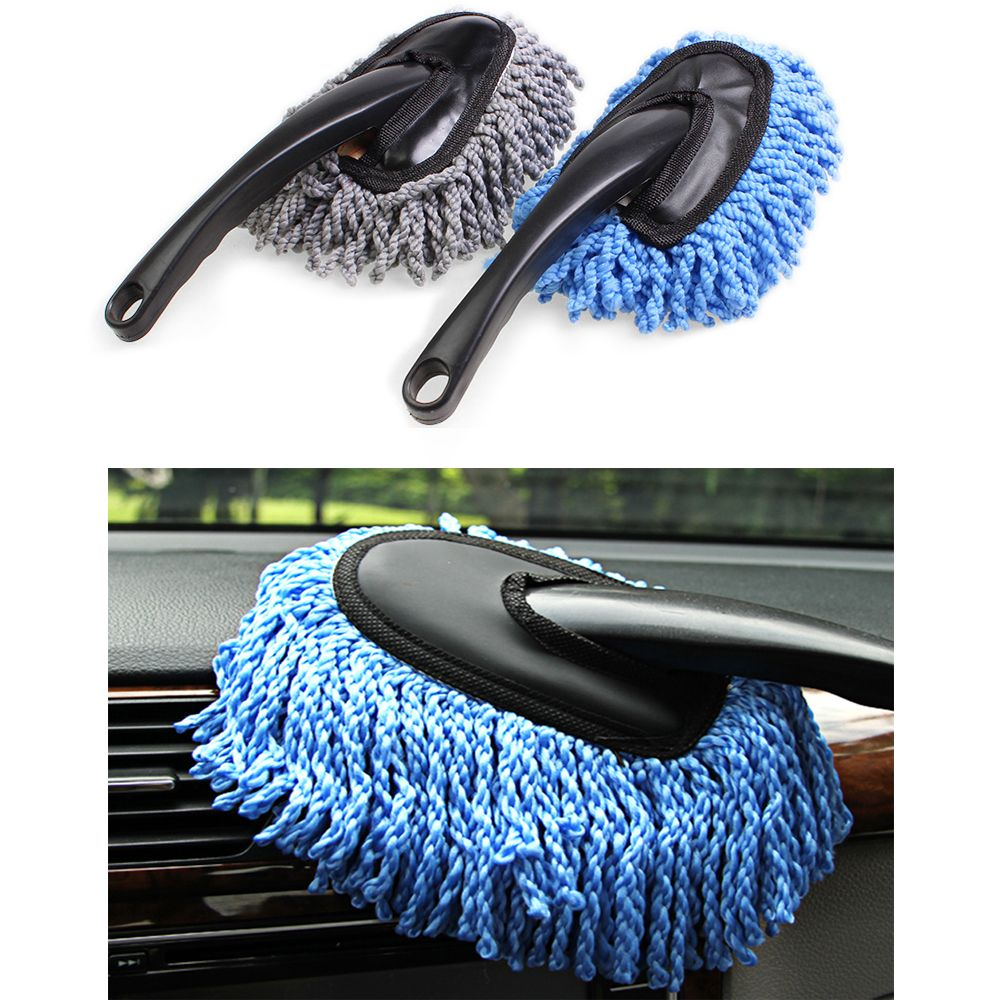 Auto Car Cleaning Wash Brush Dusting Tool Large Microfiber