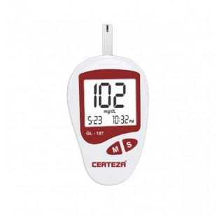 Blood-glucose-monitor-with-25-strips-GL-107-AlamTraders-026