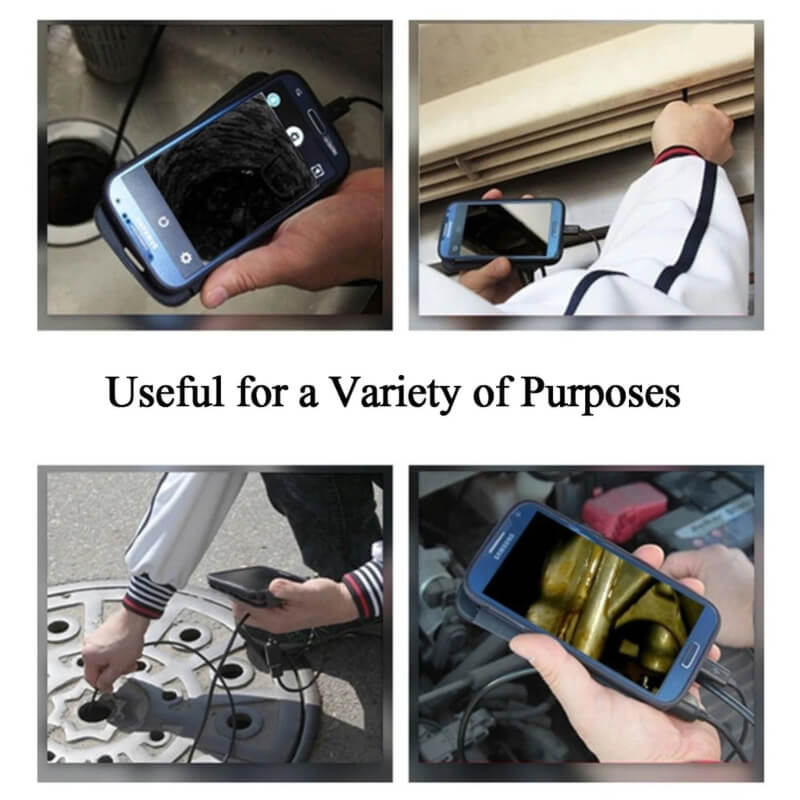 WIFI Endoscope 8mm Inspection Snake Camera