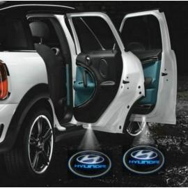 Logo Light Hyundai For 2 Doors