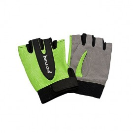 Weight Lifting Gloves Green & Grey For Women