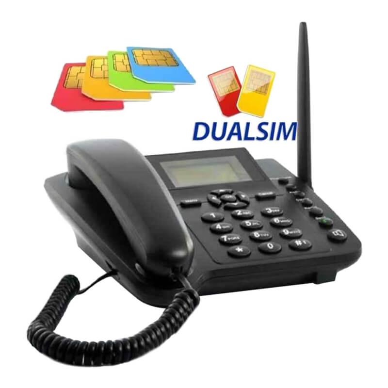 TDK Dual 2 Sim GSM Landline Wireless Phone