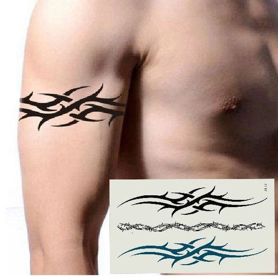 Pack of 3 Noble Lace Tattoo