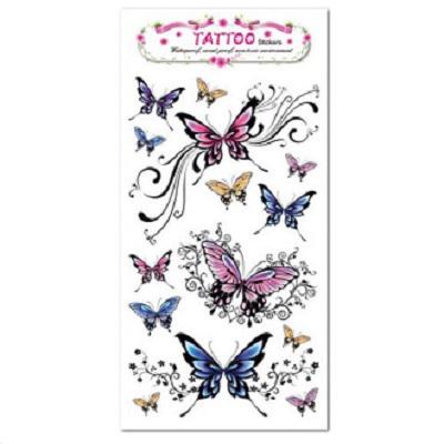 Removable Waterproof Butterfly Stickers Body Art Tattoo