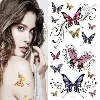 Butterfly-Stickers-Body-Art-Tattoo-WH-0109