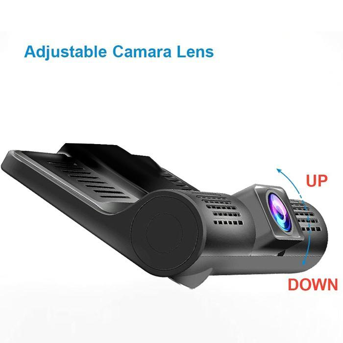 WDR Dashcam 3 Camera Lens Video Car DVR Full HD 1080P