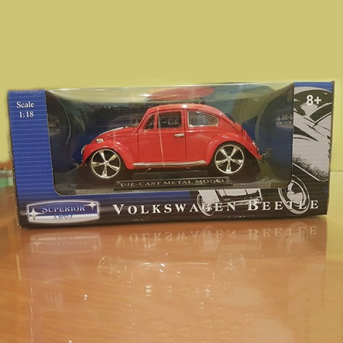 Volkswagen Beetle Diecast Model Car
