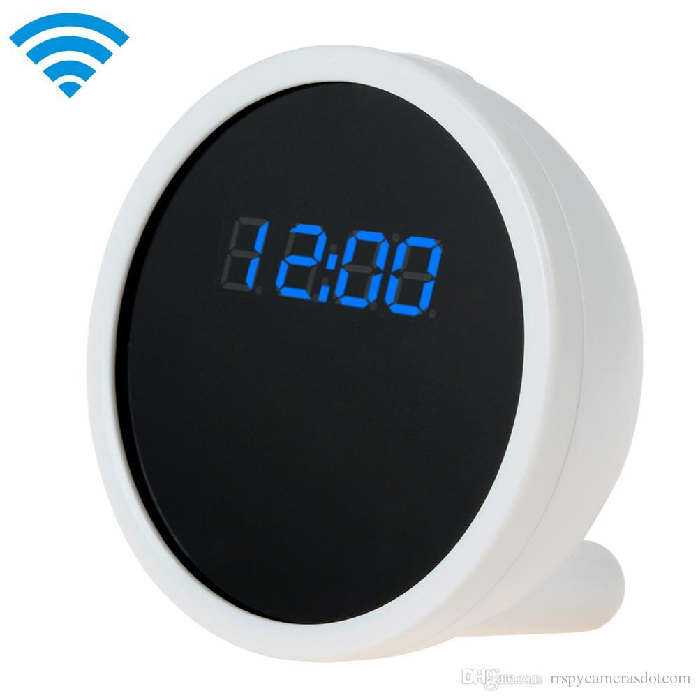 Mini rechargeable Clock wifi hidden camera clock HD 1080P