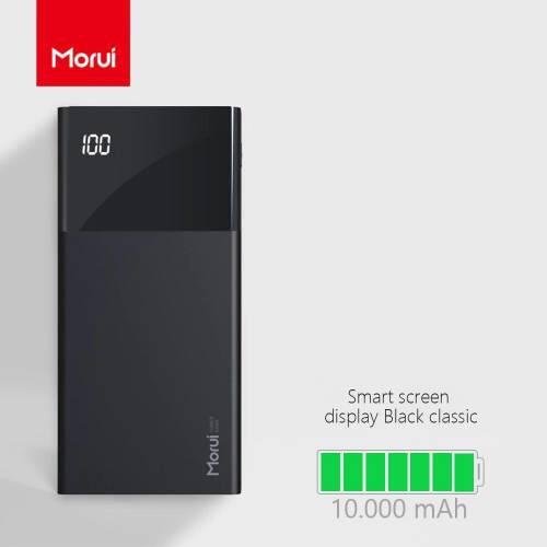 Morui ML20 10000mAh Lithium Polymer Power Bank with Display