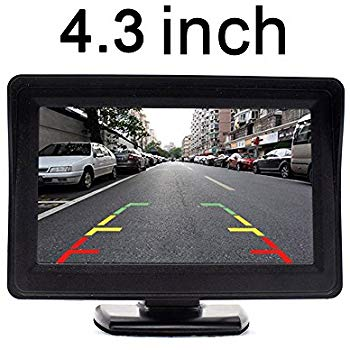 4.3 Inch TFT LCD Color Monitor for Vehicle Security System