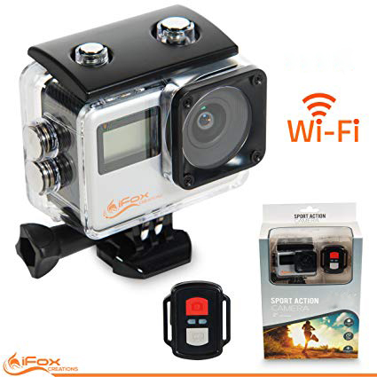 Water Sports Action Camera With WIFI 2.4G Remote Control