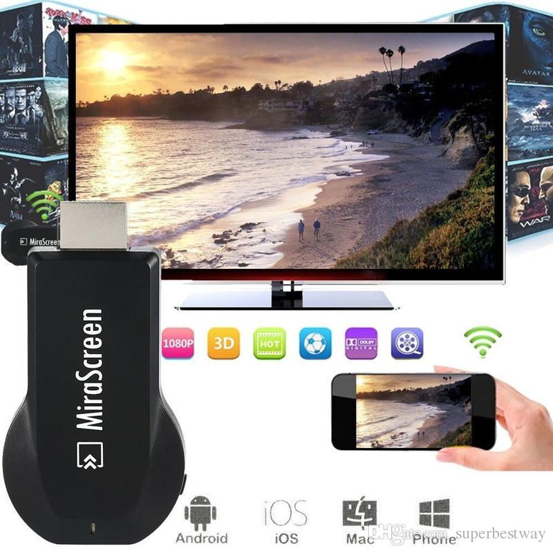 MX AnyCast Airplay Wireless WiFi Display TV Dongle Receiver