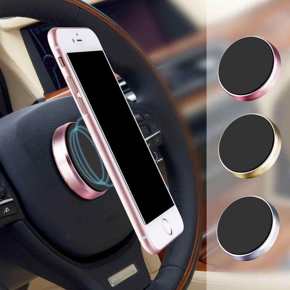 Magnetic Mobile Phone Holder Car Dashboard Bracket-Pack of 3
