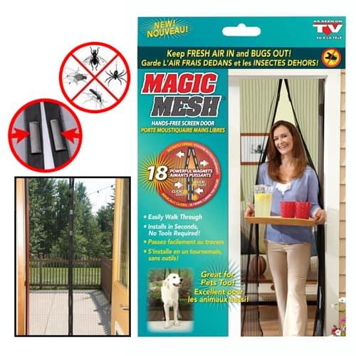 Magic Mesh Hands-free Screen Door