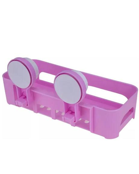 Storage Rack in Multicolors With Magic Suction Cup