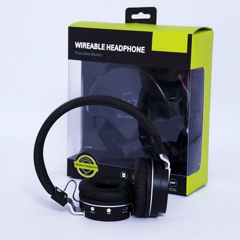 Multi functional Bluetooth Stereo Wireable Headphones