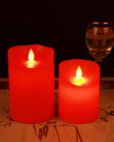 Electric-Candle-Small-Red