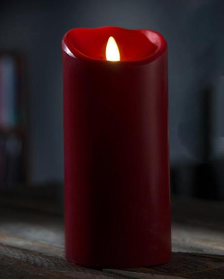 Electric Wax Candle Small - Red