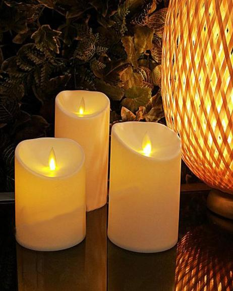 Electric Wax Candle Small - Off White