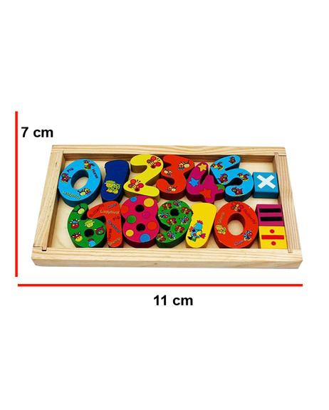 Wooden Counting Block Board For Kids