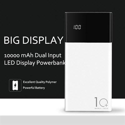 Morui ML10 Power Bank 10000mAh with LED Smart Screen Display