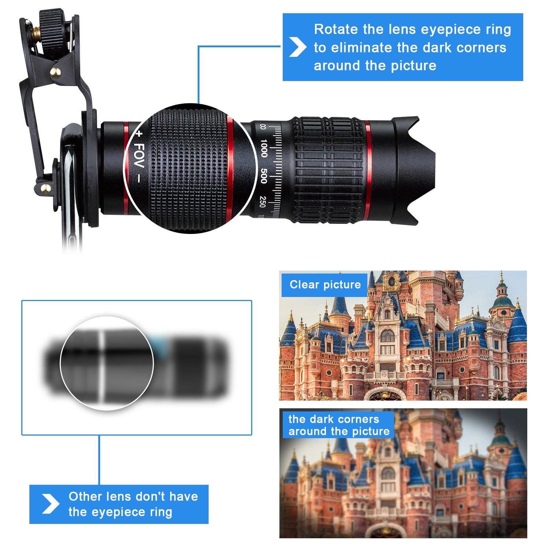 22X HD Zoom Mobile Phone Telescope Lens