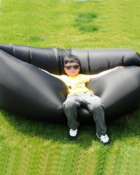 Inflatable Air Sofa Waterproof Air Filled Portable Lay Bag