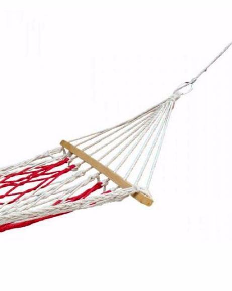 Hammock Swing - Red & White