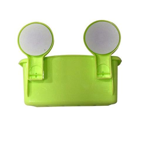 Multicolor Storage Rack Magic Suction Cup - Green
