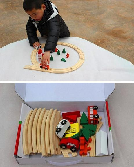 Wooden-Trains-Circular-Model-Building-Toy