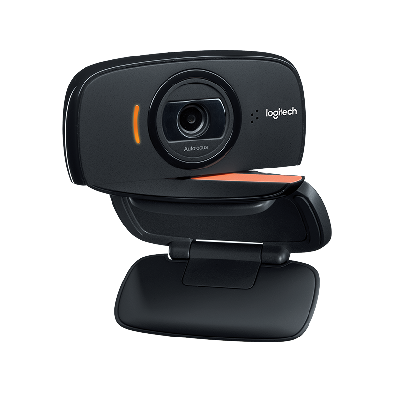 Logitech B525 HD Webcam 1080p Fold-and-Go Convenience