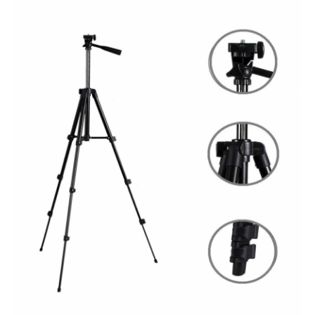 3120 Built In Level 3-Way Head & Aluminum Legs Tripod Stand