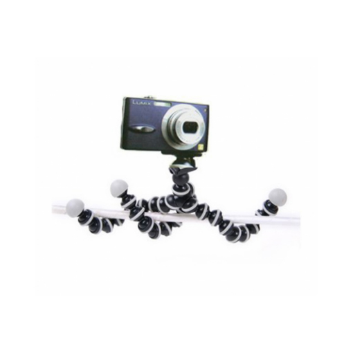 Gorilla Camera And Mobile Tripod Stand 811 - Black