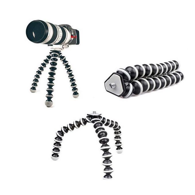 Gorilla Camera And Mobile Tripod Stand 829 - Black