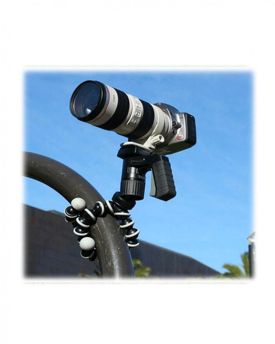 Gorilla Camera And Mobile Tripod Stand 813 - Black