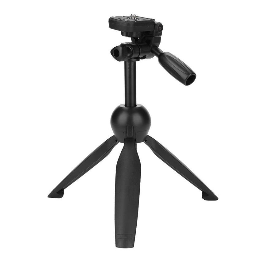 Yunteng VCT-2280 Multi-function Mini Tabletop Tripod - Black