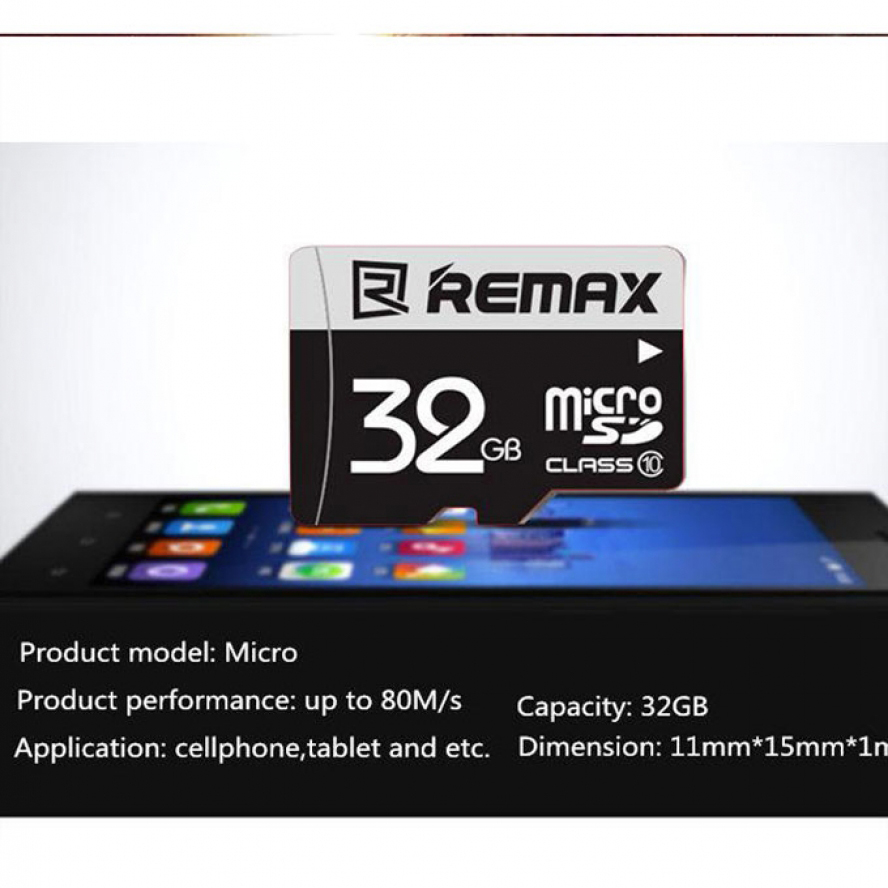 Remax C-Series Micro SD 32GB Memory Card C10(3.0)