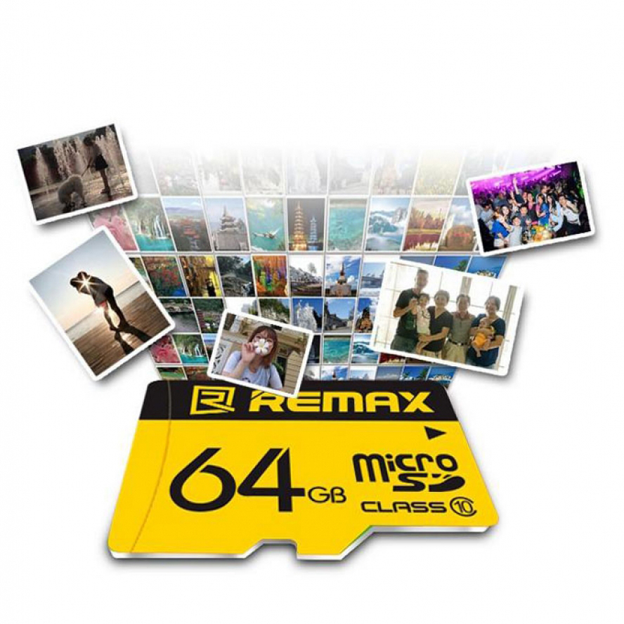 Remax C-Series Micro SD 64GB Memory Card C10(3.0)
