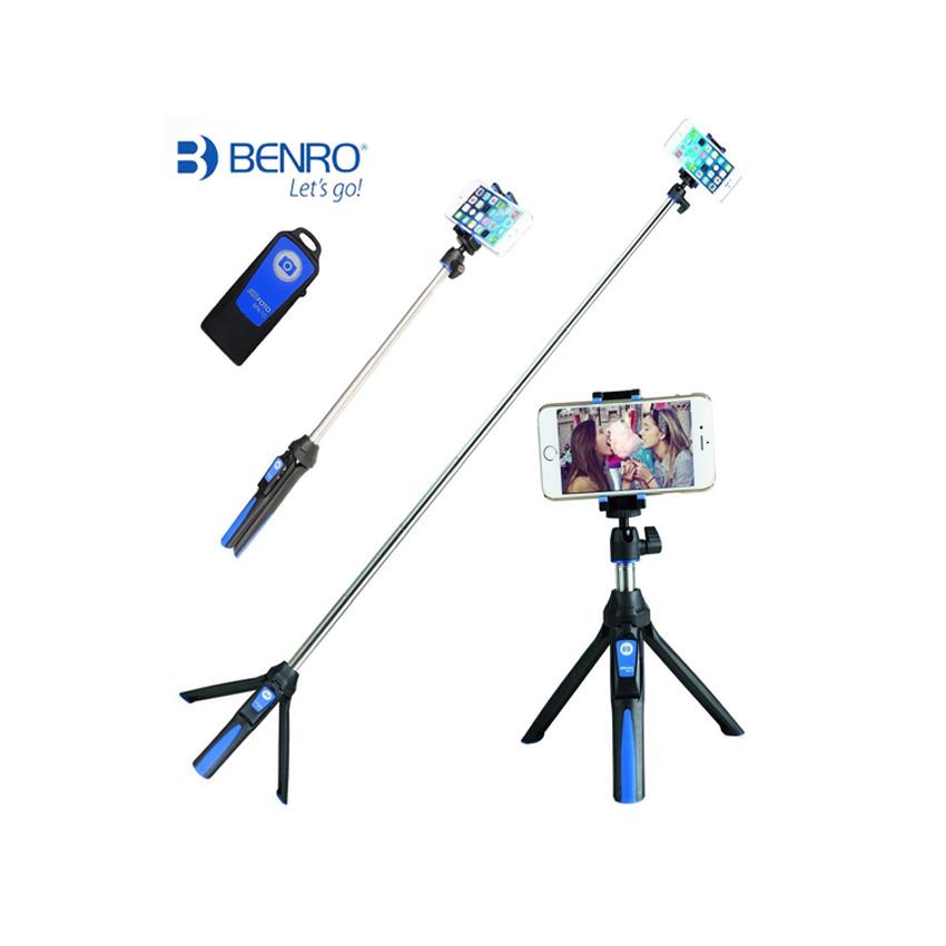 Benro-Tripod-Selfie-Stick-3in1-Monopod
