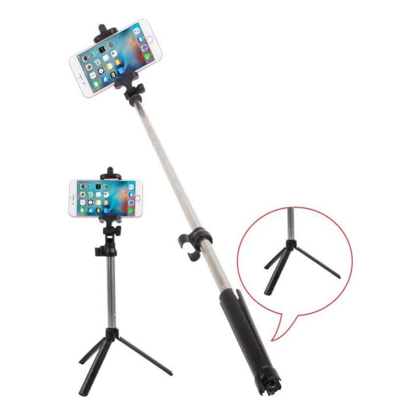 Tripod Selfie Stick With Bluetooth Remote Shutter
