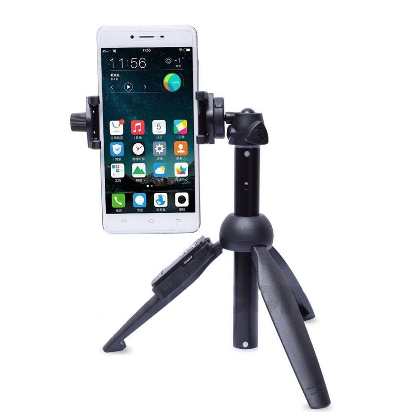 Yunteng Tripod Selfie Stick with Phone Holder + Controller