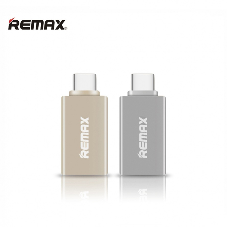 Remax OTG Type-C USB Adapter - Silver