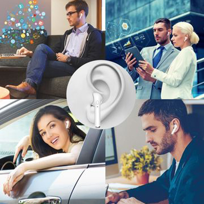 Wireless Bluetooth I7S Earbuds, Earphones+Charging Box
