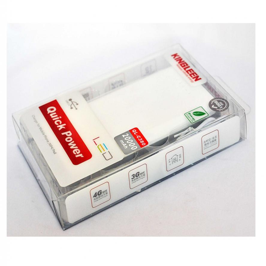 Kingleen Quick Power Real Capacity 20000mAh Power Bank