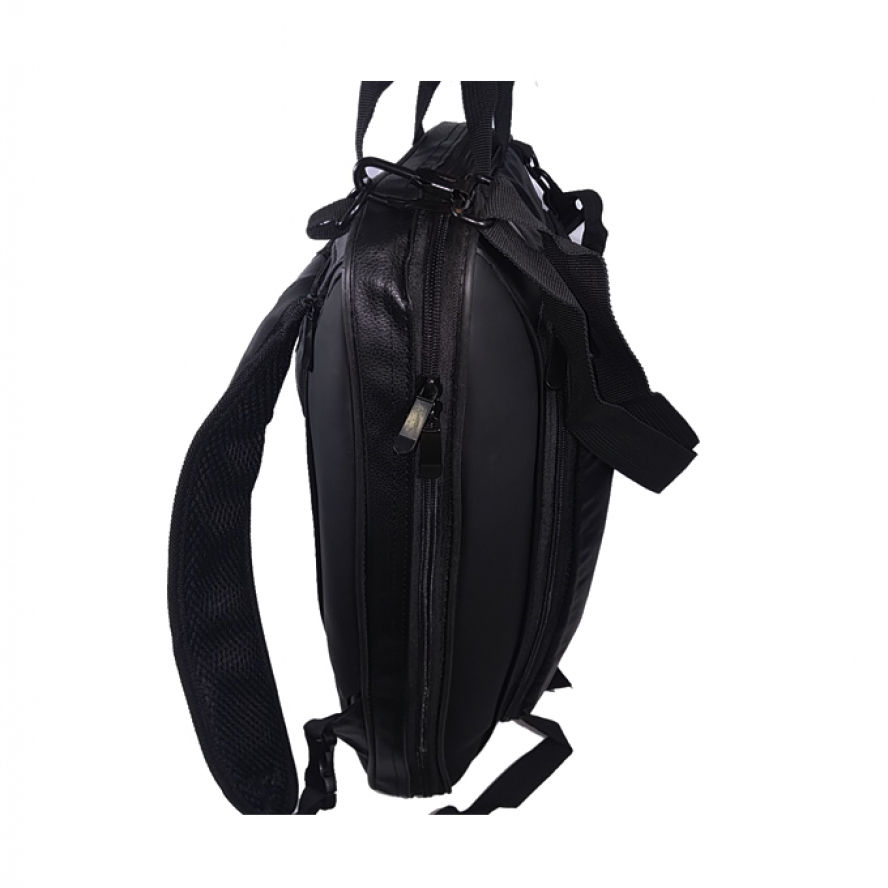 Laptop 3in1 leather Type PU Bag - Black