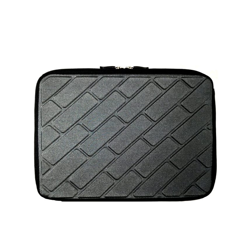 Tablet Bubble Pouch 10 inch -Black, Grey & Silver Colors
