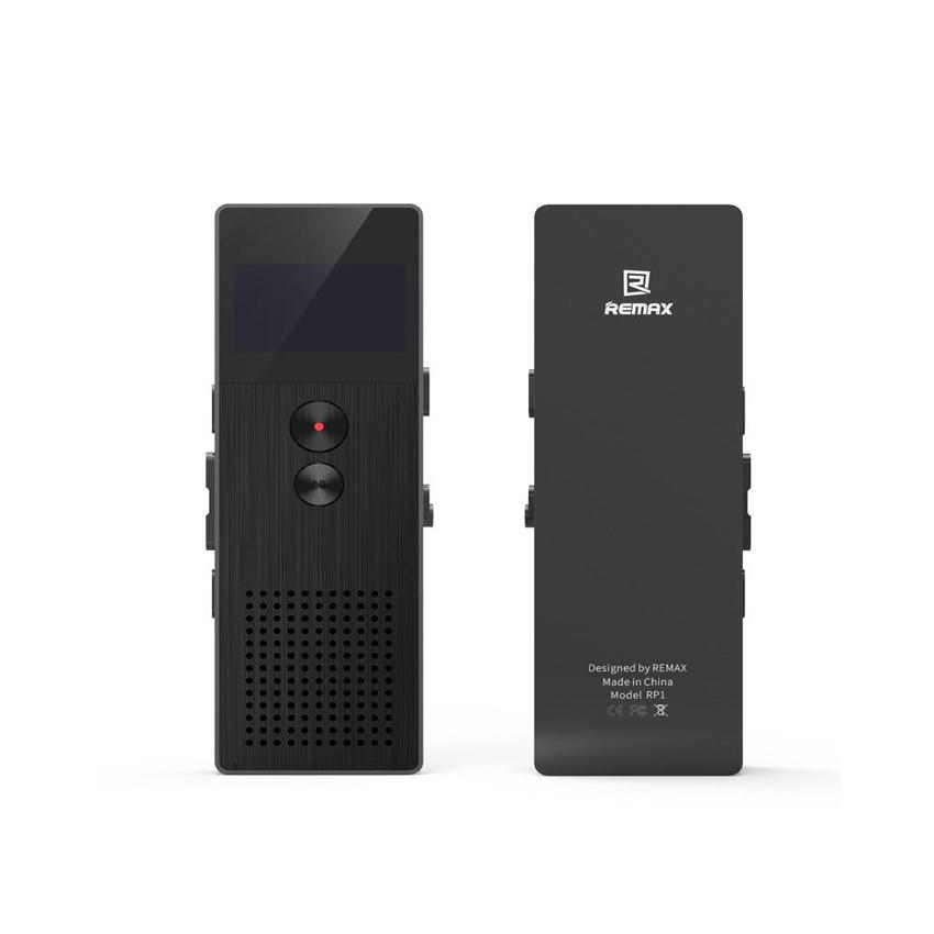 REMAX 8GB Professional Digital Audio Voice Recorder-RP1