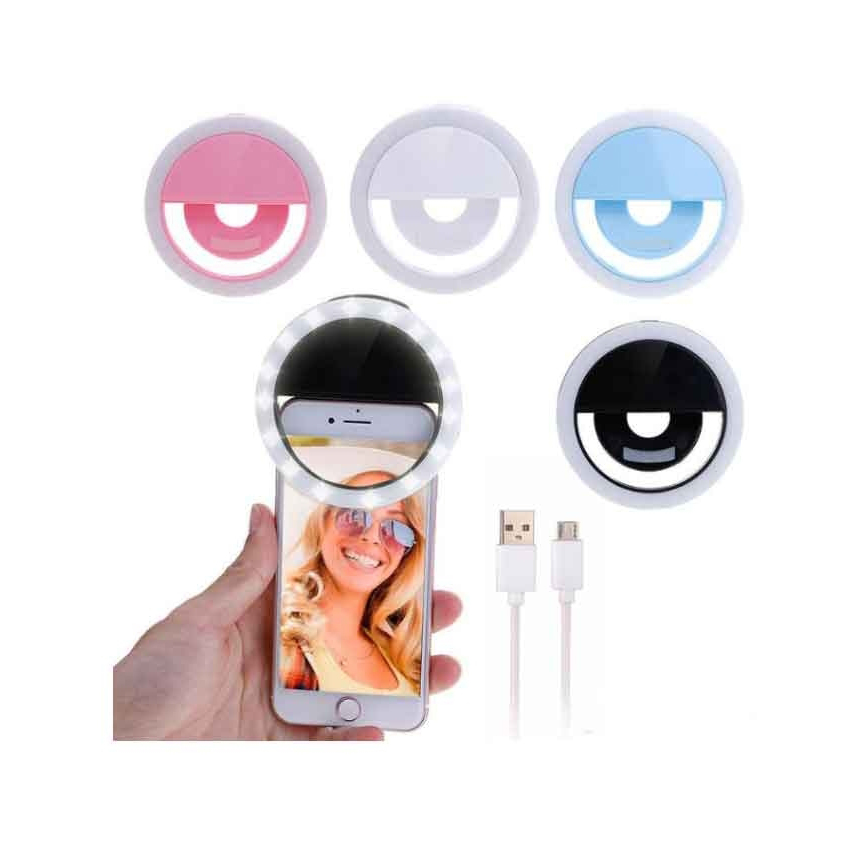 Selfie Ring Light With LED Camera Photography flash Light