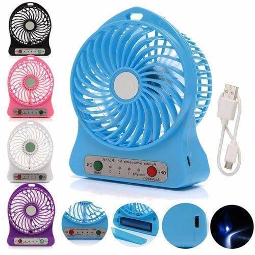 Portable Chargeable Fan