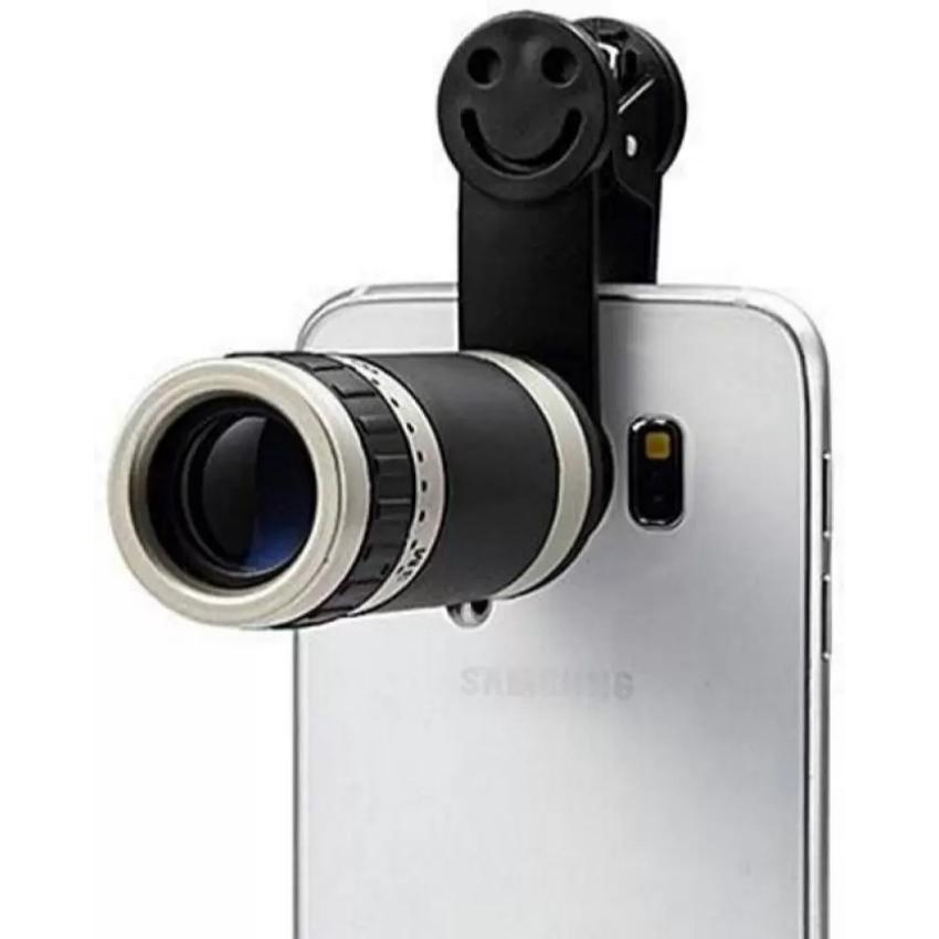 Original 8x Mobile Zoom Lens Better Quality - Silver